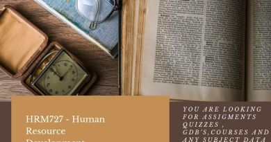 HRM727 - Human Resource Development