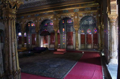 Maharaja's Sitting Room