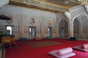 Maharajah's sitting room