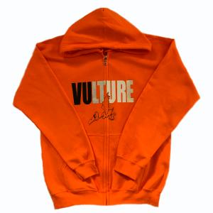 vulture hoodie orange