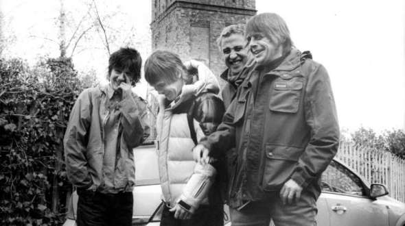 The Stone Roses. Credit: Pennie Smith.