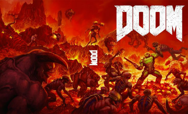 Doom 2016 Alternate Cover