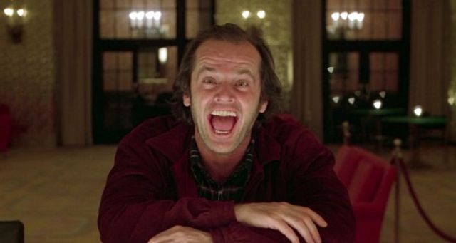 The Shining Jack Laughing