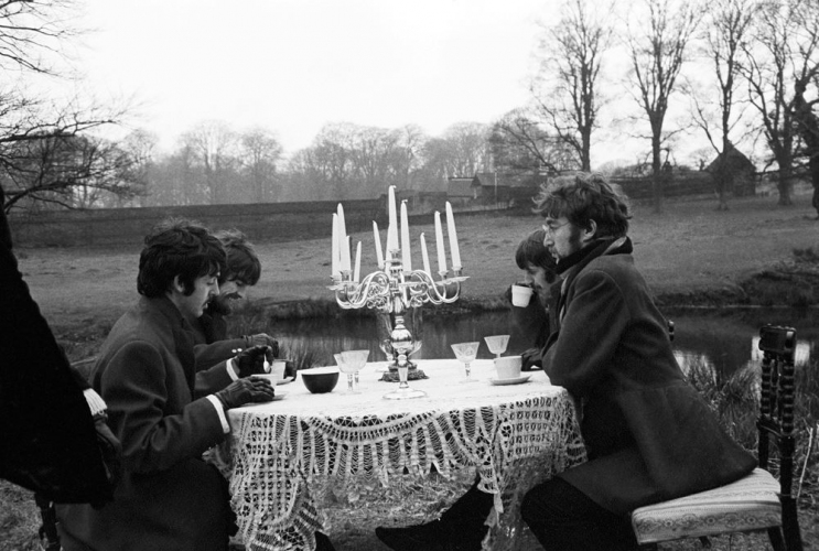 The Beatles Seveoaks Tea party 1967