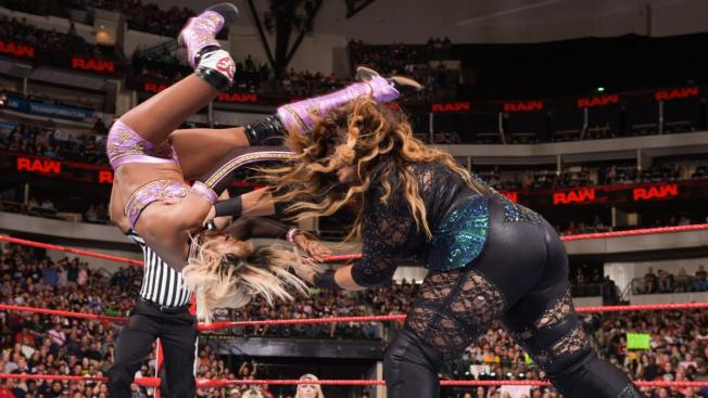 Nia Jax throws Alicia Fox
