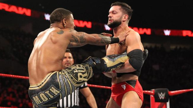 Finn Balor has had enough of Lio Rush