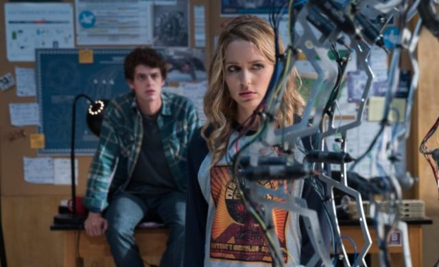 Happy Death Day 2U Israel Broussard and Jessica Rothe