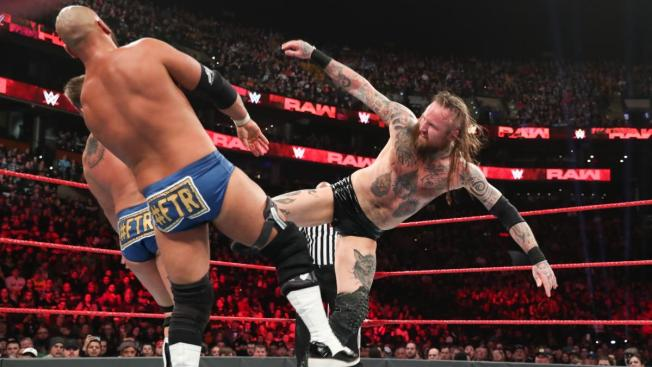 Aleister Black give The Revival Black Mass