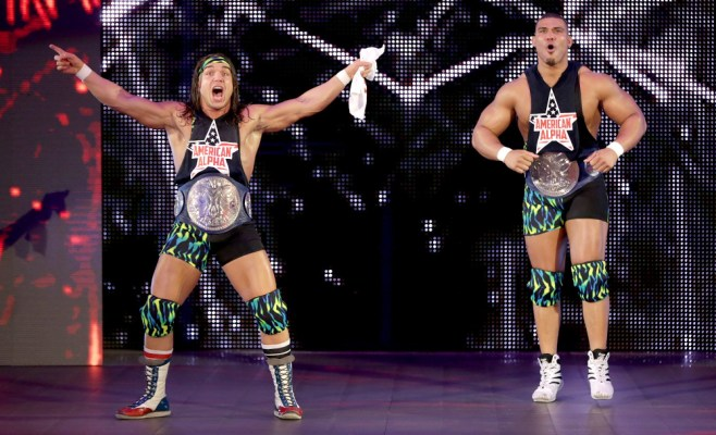 American Alpha on SmackDown Live