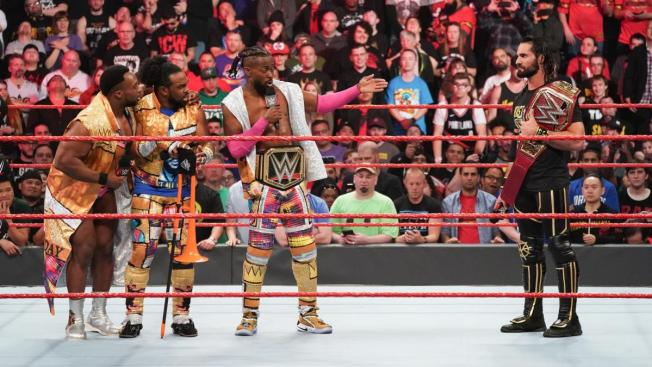 Seth Rolins and New Day