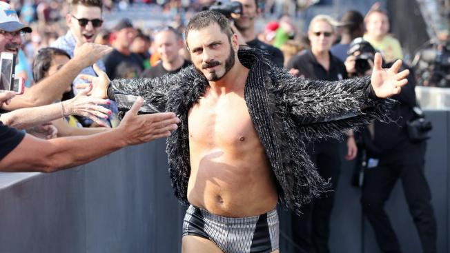 Austin Aries at Wrestlemania 33