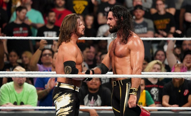 Money in the Bank 2019: AJ Styles vs. Seth Rollins