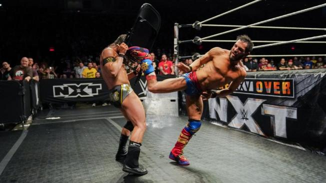 chair assissted superkick