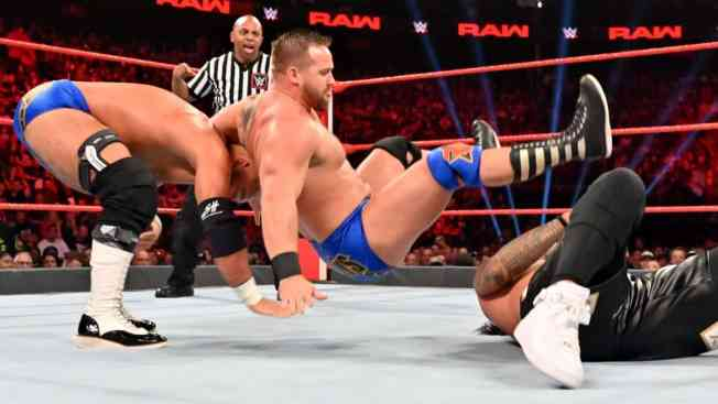 The Revival put down Jimmy Uso