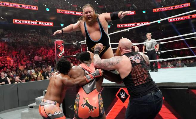 Extreme Rules 2019: Otis Heavy Machinery