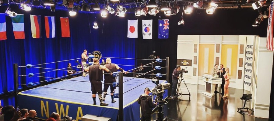 NWA Power Studio shot