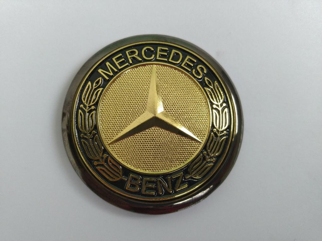 brabus hood emblem chrome w210 w211 w204 w203 w202 w124 w140 w220 w212
