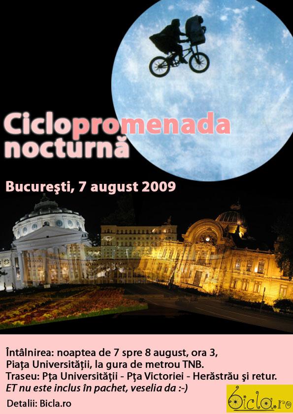 Ciclopromenada nocturnă
