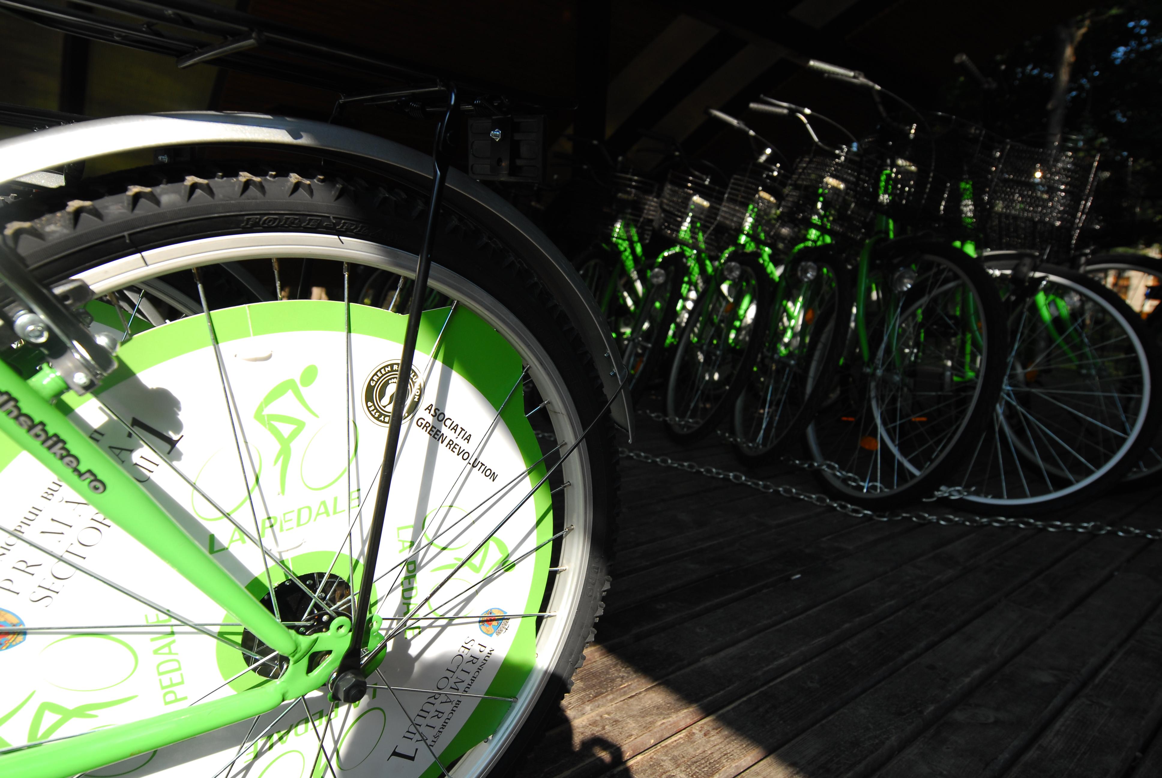 la pedale - centru inchiriere biciclete in Parcul Herastrau