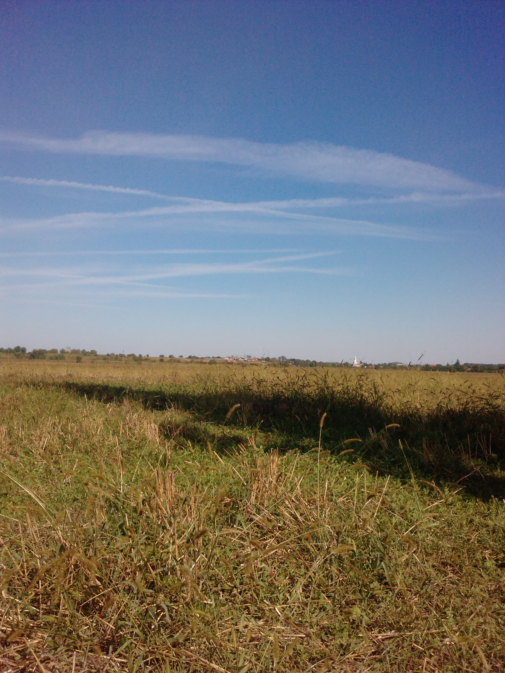 160 Km singur pe bicla - pauza si nori dupa Budesti