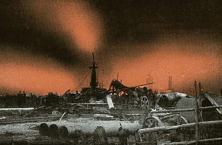 Die Flamme von Neuengamme