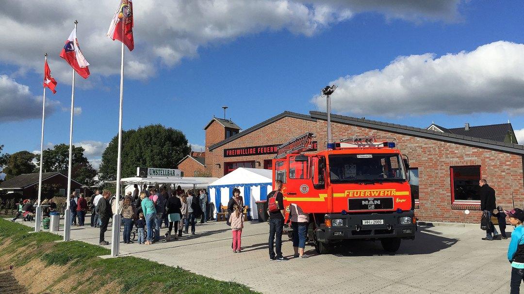 FF Kirchwerder Süd - Einweihung neues Feuerwehrhaus 2015
