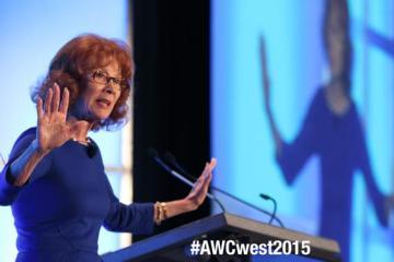 Carol speaking at AWC