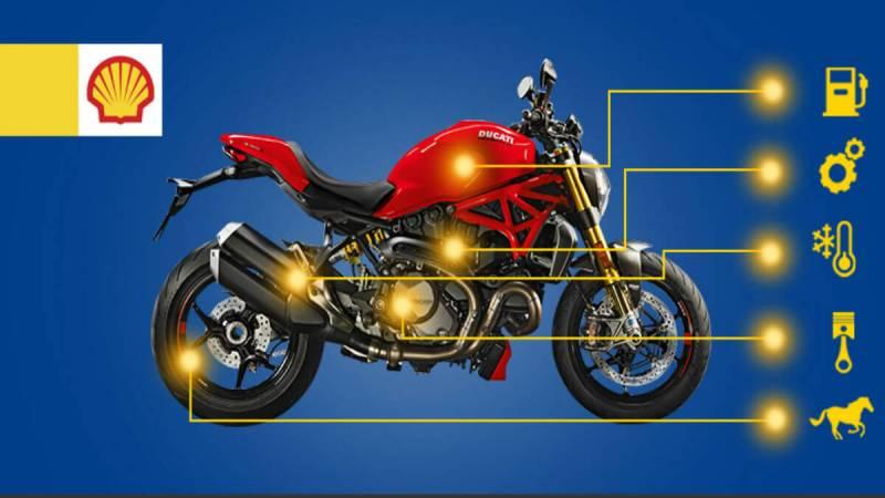 Shell Advance Ultra – Dầu nhớt xe máy tổng hợp 100%