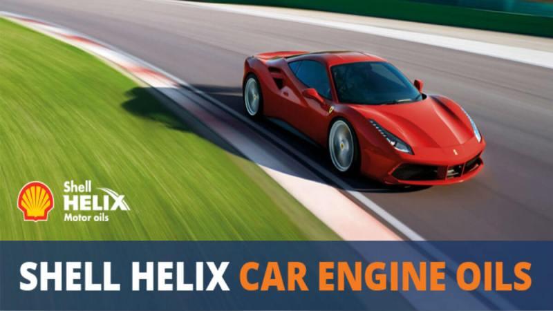 Lựa chọn nhớt Shell Helix phù hợp với chiếc xe của bạn?