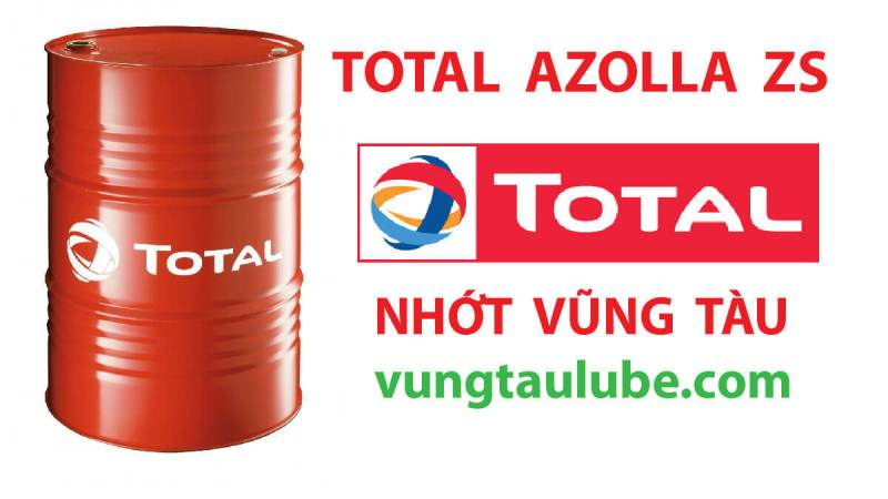 TOTAL Azolla ZS – Dầu thủy lực ISO HM chất lượng cao