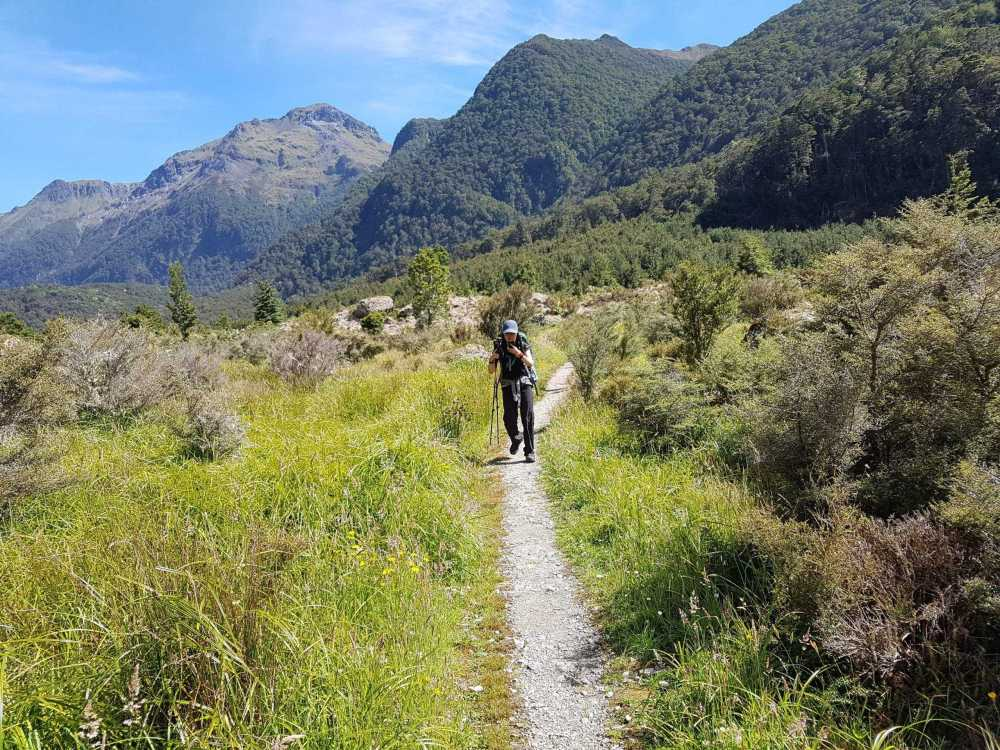 On the Way to Moturau Hut Kepler Track