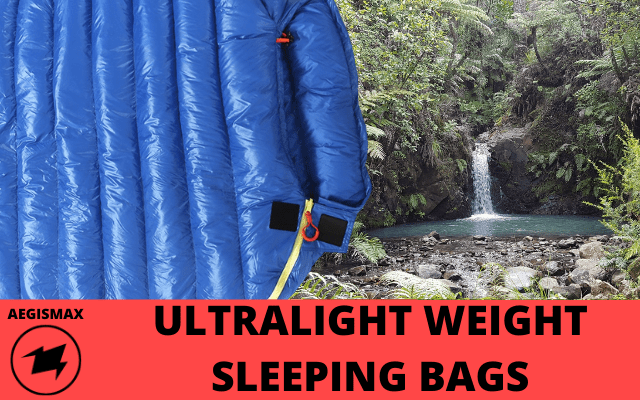 Aegismax Ultralight Weight Sleeping Bags V2