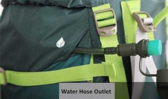 Inlcudes outlet for water hose