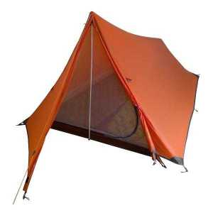 Tent for Hiking Pole-less Orange