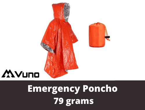 Emergency Poncho Shelter (1)