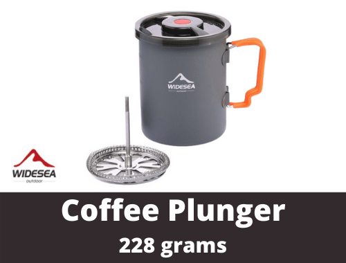 WIDESEA Hiking Coffee Plunger Pot