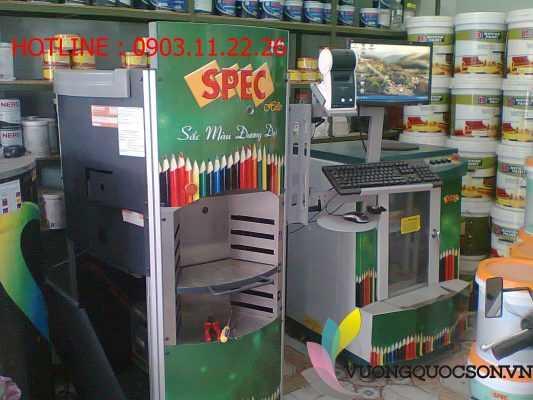 Trung tâm pha màu đại lý sơn spec giá rẻ chính hãng