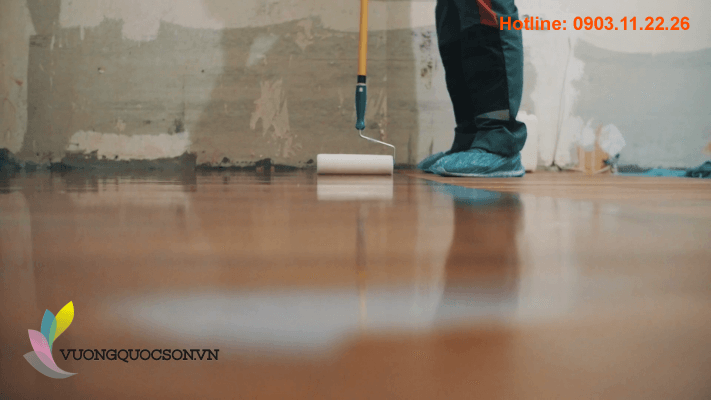 Quy trình thi công sơn epoxy 2 thành phần