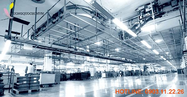 Sơn Epoxy dành cho cấu kiện sắt thép công nghiệp