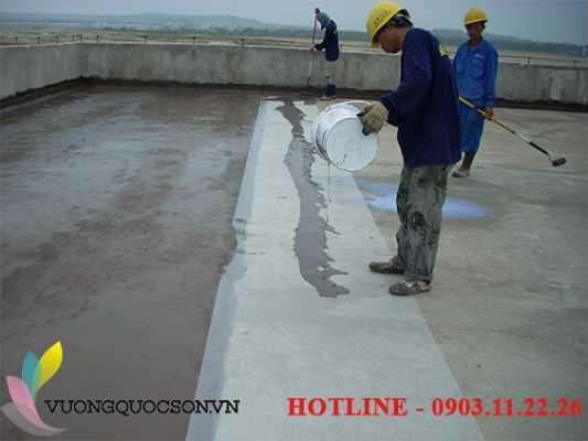 thi công sơn epoxy sàn bê tông uy tín
