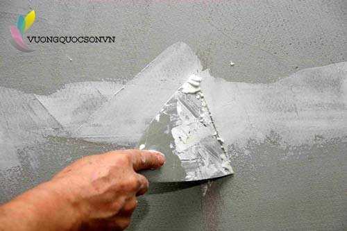 Hướng Dẫn Thi Công Bột Trét Terraco Sprayplaster Basecoat DP