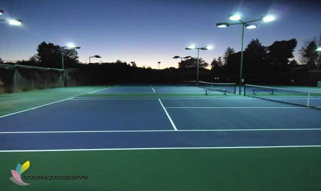 Nhà Thầu Thi Công Sân Tennis
