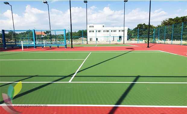 Bảng Báo Giá Thi Công Sơn Sân Tennis Trọn Gói Khu Vực Bình Định