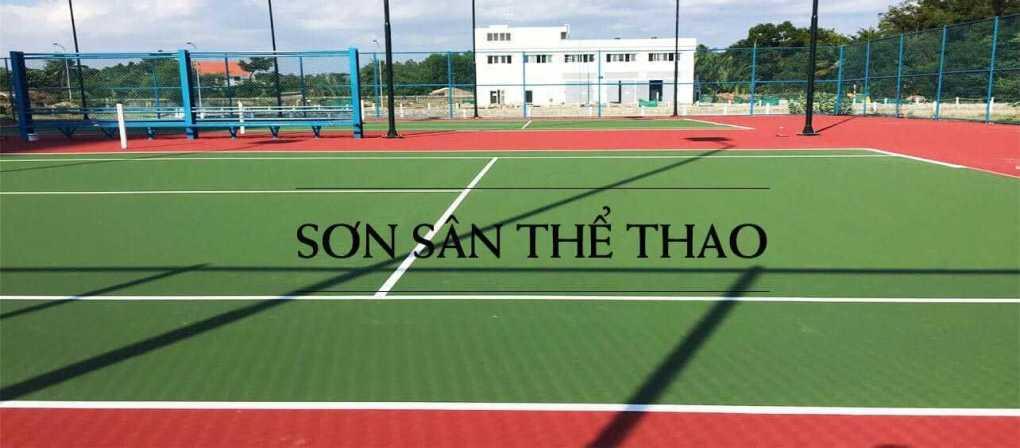 Tìm Hiểu Phương Pháp Thi Công Sơn Sân Tennis