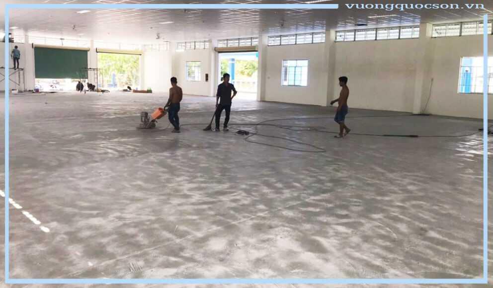 thi công sơn sàn nhà xưởng công nghiệp