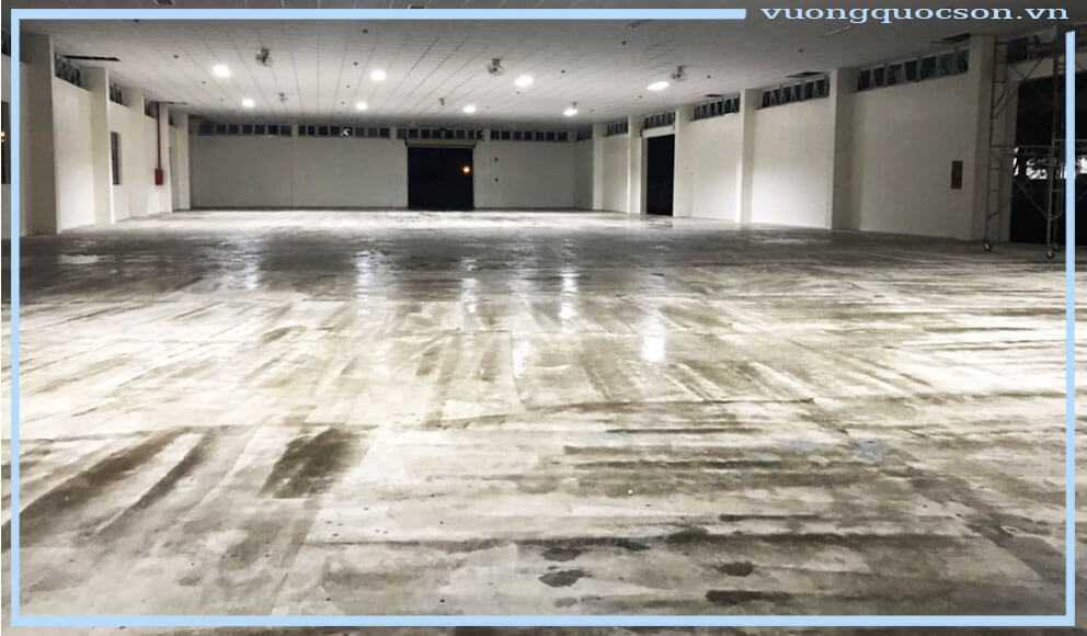 sơn epoxy nippon cho sàn bê tông