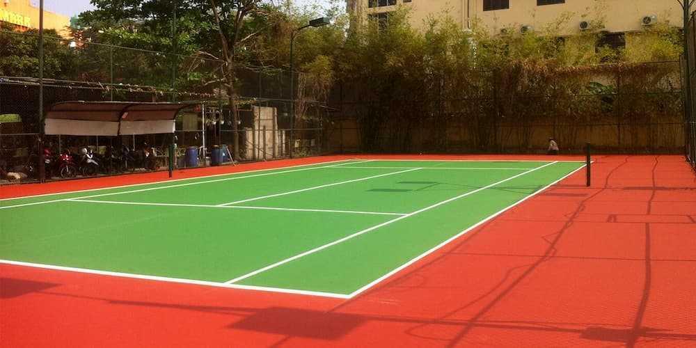 Quy Trình Hướng Dẫn Thi Công Sơn Sân Tennis Tiêu Chuẩn 6 Lớp