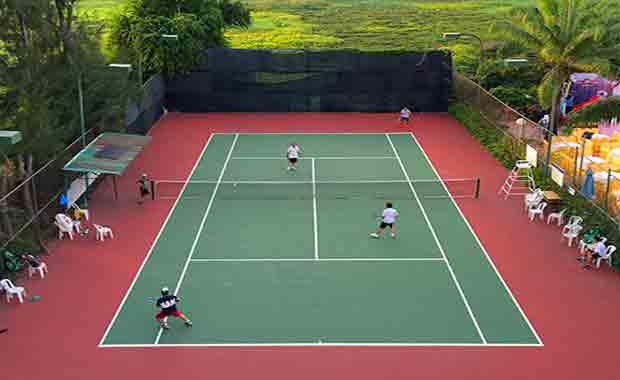 Bảng Báo Giá Thi Công Sơn Sân Tennis Trọn Gói Khu Vực Thanh Hoá