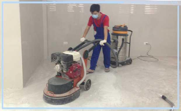 Chuẩn bị bề mặt thi công sơn epoxy