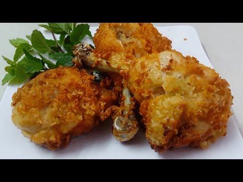 hướng dẫn làm khoai lang chiên - Cách Làm Gà Rán KFC Ngon Và Đơn Giản